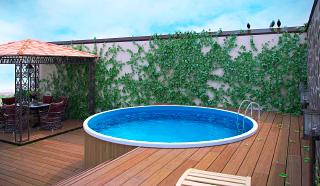 Можно ли использовать надувной и каркасный бассейн зимой?