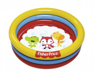 "Бассейн надувной ""Fisher Price"" 91 х 25 см, с 25 шариками, от 2 лет"